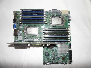 SuperMicro Mainboard H8DGU inkl 2X CPU G34 AMD Opteron 6172 Serie 64 GB RAM
