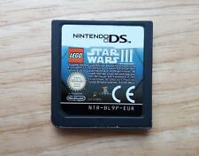 LEGO Star Wars III The Clone Wars - Nintendo DS game - 2DS / 3DS - Age 3+ PAL