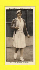 TENNIS - STEPHEN MITCHELL & SON - A GALLERY OF 1935 -  HELEN WILLS MOODY  - 1936