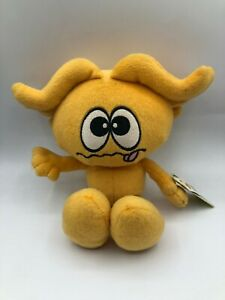 Star Kooties Silly Kootie Star 2001 Fineline Orange Yellow Plush Stuffed Toy