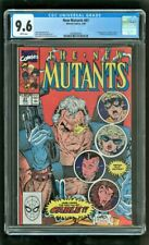CGC 9.6 NEW MUTANTS #87 MARVEL COMIC 1990 1ST APPEARANCE OF CABLE STRYFE X-FORCE