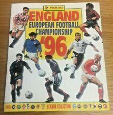 *** Very Rare Panini England Euro '96 / 1996 Album - Hand Signed by 15 ***