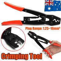 1.25-16mm² Wire Crimper Cable Plier Terminal Anderson Plug Lug Crimping Tool AU
