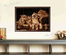 UNFRAMED Lions Lion Family Animal Canvas Print Poster High Quality Picture