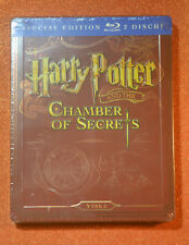 EU Import New+Sealed Steelbook Harry Potter and the Chamber of Secrets Blu ray