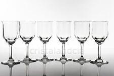 Six verres à vin n°4 Capri en Baccarat. Six wine glasses n°4 Capri by Baccarat