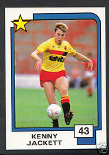 PANINI CALCIO CARD - 1988 SUPERSTARS CALCIO-N. 43-Kenny jackett-Watford