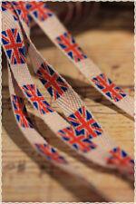 Coppia Stringhe per scarpe colori Fashion BANDIERA INGLESE 115 cm *shoes strings