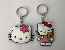 NEW Lot of 4 Hello Kitty Keyrings - Perfect for loot bags & party favours