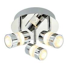 Modern 3 Way LED IP44 Chrome Bubbles Bathroom Ceiling Spot light Fitting