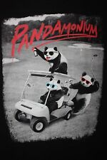 Pandamonium Panda Golf T-Shirt