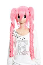 W-161 ONE PIECE PERONA Cosplay Perücke Wig Manga Lolita Locken pink rosa 60cm