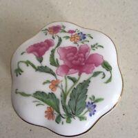 Vintage Royal Worcester Spode Hammersley Trinket Box