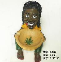 Novelty Ashtray Vintage Cigarette Ash Tray Holder Resin Figurine Home Decor Gift