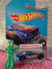 2005 FORD MUSTANG #280✰racing blue;gray mc5✰HW RACE TEAM✰2017 i Hot Wheels M