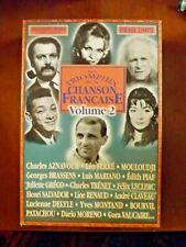 coffret de 20 cd les triomphes de la chanson Française Vol 2