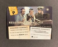 Black Orchestra Resistance Broadcast Man Vs Meeple Promo