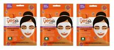 Yes To Carrots Nutrition Boosting Vitamin Enriched Kale Paper Mask (3 Pack)