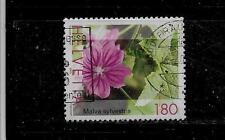 SWITZERLAND SWISS SC #1147a 2003 180c FLOWER DEFIN  POSTALLY USED SINGLE STAMP