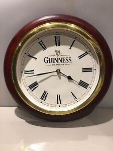 Guinness Original Pub Bar Wall Clock Battery Operated Working
