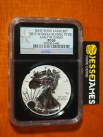 2013 W REVERSE PROOF SILVER EAGLE NGC PF69 EARLY RELEASES BLACK CORE ONE COIN