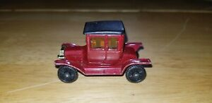 Vintage Tomica Type-T Ford F11 1:60 Maroon 1977