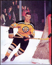 1960's Boston Bruins Bobby Orr With Rookie Jersey Number 27  8x10 Photo Reprint