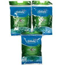 Oral-B Glide + Scope Outlast Floss Picks 75 Floss Picks Per Bag LOT OF 3 Green