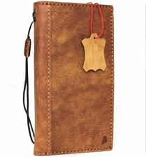 genuine vintage leather Case for oneplus 5 book wallet cover slim handmade Suede