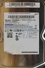 400 GB Samsung HD403LJ | S/N: SONFJDQQ100048 | 2008.01 | P/N: 401411CPC27774