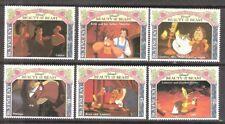 St Vincent 1992 Disney Beauty and the Beast MNH (SC# 1768-1773)