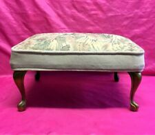Elephant 3 Head Bench Unique Handcrafted Foot Stool Low Seat Solid Wood