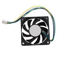 70x70x15mm 12V 4 Pines PWM Ventilador de Enfriador para Ordenador PC CPU Ve W3X1