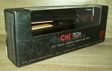 """CHI Tech 3/4"""" Travel Ceramic Hairstyling Iron for On-the-go Styling GF8225"""