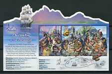 Pitcairn Isl 2017 MNH Women of Bounty Melbourne OVPT 3v M/S Boats Ships Stamps