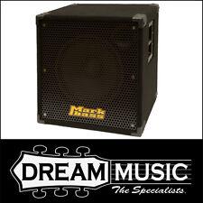"Mark Bass Blackline STD 151HR Standard 1x15"" 8ohm Speaker Cabinet RRP$999"