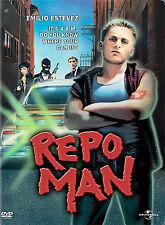 REPO MAN (DVD, 2003) RARE OOP 1984 FILM- EMILIO ESTEVEZ