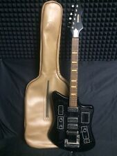 FORMANTA 241 BL RARE Vintage Electric Guitar with native cover Soviet USSR
