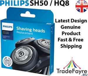 GENUINE Philips SH50 / HQ8 Shaver Head/foils/cutters