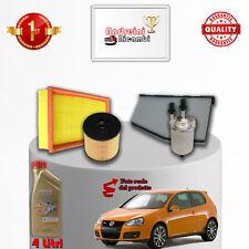 KIT TAGLIANDO 4 FILTRI E OLIO VW GOLF V 1.4 TSI 103KW 140CV 2007 ->