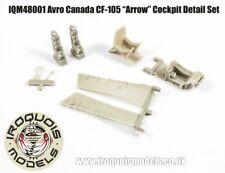 """Iroquois Modèles 1:48 Avro Canada CF-105 """"Arrow"""" Cockpit detail set"""