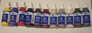 Yudu designer ink. 3 ounce bottles. You choose color. New