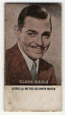 Spanish Weighing Weight Machine Card Photomaton US Hollywood Actor Clark Gable