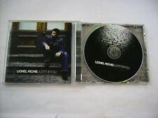LIONEL RICHIE - JUST FOR YOU - CD 14 TRACKS EXCELLENT CONDITION 2004 - L.KRAVITZ
