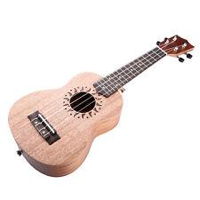 """Professional 21"""" Wooden Soprano Ukulele-Rosewood 4 String Acoustic Instrume"""
