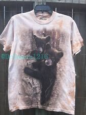 NEW The Mountain Curious Cubs Bear Kids/Adult T-Shirt 100% Cotton--Clearance