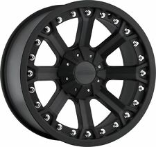 "20"" Pro Comp Offroad 7033 Black Wheels Rims 5x5.5 5x150"