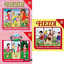 9 CDs * HEIDI BOX - VOLUME 1 - 2 - 3  # NEU OVP !