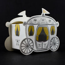 96 Fairy Tale Wedding Enchanted Carriage Favor Boxes Decorations Gift Favors