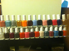 A LOT OF 3 FULL SIZE BOTTLES ESSIE NAIL POLISH 0.5OZ ( PICK YOUR OWN 3 COLORS )